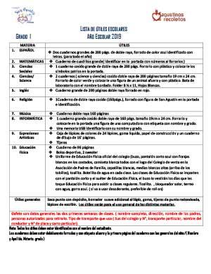 utiles-primaria